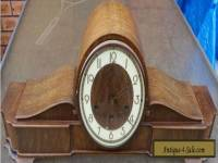 Kienzle Mantle Clock circa 1940 Working