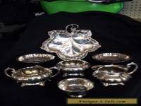 Silverplate Various pieces
