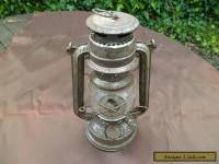 Vintage Feuer Hand Baby 275 Hurricane Lamp