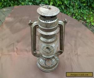 Vintage Feuer Hand Baby 275 Hurricane Lamp for Sale