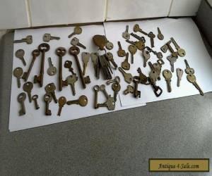 vintage  old keys Antique modern locks padlocks,furniture, classic car  for Sale