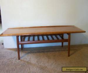 1960's Teak Coffee Table by GRETE JALK  Danish Mid Century Modern Furniture for Sale