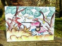 ANTIQUE STYLE Hunting scene HAND PAINTED TILES