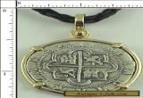 Atocha Coin Replica 2 Reale Cob Piece Of Eight Atocha 1622 Shipwreck Pendant for Sale
