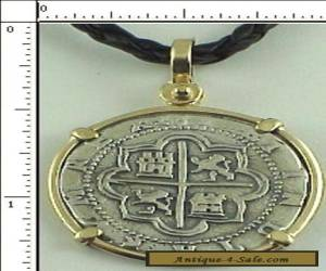 Atocha Coin Replica 2 Reale Cob Piece Of Eight Atocha 1622 Shipwreck Pendant for Sale