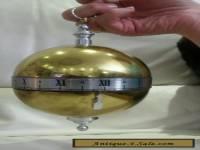 Vintage clock falling ball ingland made
