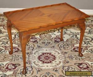 *ATTRACTIVE VINTAGE LARGE WALNUT COFFEE TABLE, LONG OCCASIONAL END TABLE* for Sale