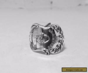STERLING SILVER spoon ring GETTYBURG. PA, by ALVIN for Sale