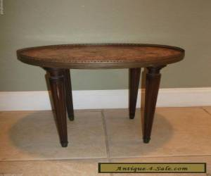 ANTIQUE LOUIS XVI STYLE VINTAGE MARBLETOP SIDE TABLE for Sale