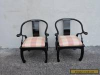 Pair of Mid-Century Hollywood Regency Living Room Side Chairs 6318