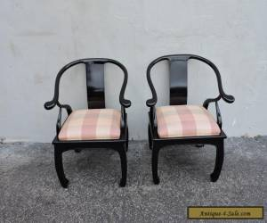 Pair of Mid-Century Hollywood Regency Living Room Side Chairs 6318 for Sale