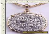 SPANISH PIRATE COIN TREASURE REALE COB OLD HISTORY ST AUGUSTINE SHIPWRECK VERO  for Sale