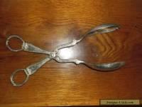 Vintage Gorham Heritage salad spoon silverplate Italy