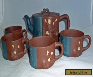 """Vintage Chinese Yixing """" 3 Friends of Winter """" Teaset for Sale"""