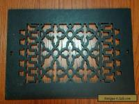 REGGIO HEAVY CAST IRON HEAT REGISTER GRATE  #814 UC