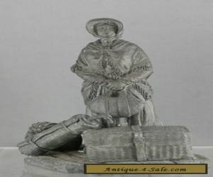 Very Fine 1978  People Of Colonial Australia Solid Pewter Figurine Hallmarked for Sale