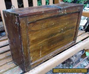 Vintage Wooden First Aid Box 1937 Pre-War for Sale
