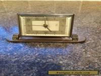 lsm german brass desk alarm clock vintage