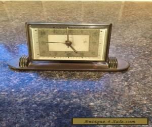 lsm german brass desk alarm clock vintage for Sale
