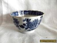 Vintage Chinese Blue and White Tea Bowl