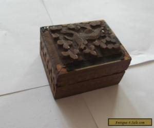 A Small Wooden Box for Sale