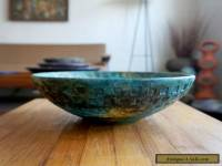 Bagni 1960's Sea Garden Italian Pottery Bowl Mid Century Bitossi Raymor