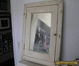 Vintage Wood And Metal Medicine Cabinet    for Sale