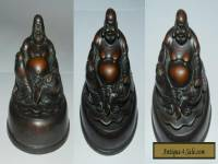 CHINA : OLD GOOD LUCK BUDDHA