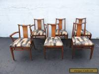 Set of 6 Mid Century Modern Dining Chairs by White Furniture 7183