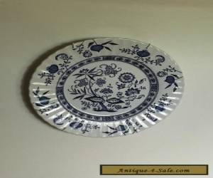 ANTIQUE BLUE NORDIC DESIGN ENGLISH WALL PLATE for Sale