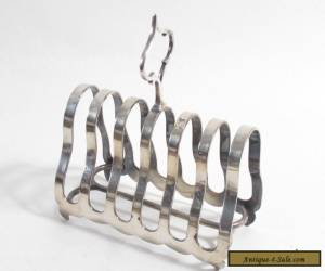 ANTIQUE ART DECO? SILVER PLATE TOAST RACK for Sale