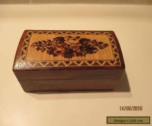 TUNBRIDGEWARE BOX  for Sale