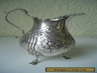 ANTIQUE (176 YRS OLD) STERLING SILVER CREAMER - LONDON 1840 -  WILLIAM KER REID