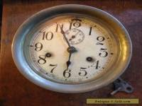 ANTIQUE SETH THOMAS SHIPS CLOCK WITH KEY