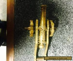 Brass Antique Signal Cannon for Sale