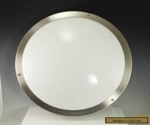 Eames Lightolier Nelson Era Mid Century Modern Porthole Ceiling Lamp Fixture for Sale