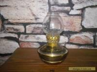 Vintage KELLY Nursery OIL LAMP BRASS