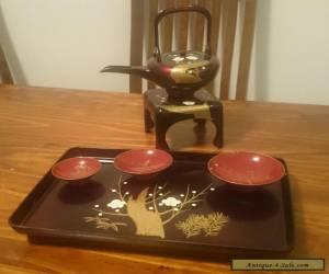 Ornamental Japanese tea set for Sale