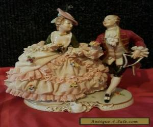 dresden porcelain  dance group  for Sale