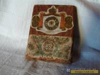 antique/vintage wooden jamaica cigar box