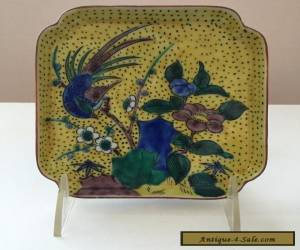 JAPANESE PORCELAIN KUTANI PLATE for Sale