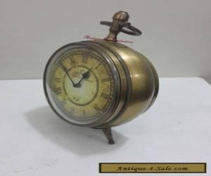 Unique & Decorative Antique Brass Roman Table Desk  Clock  for Sale