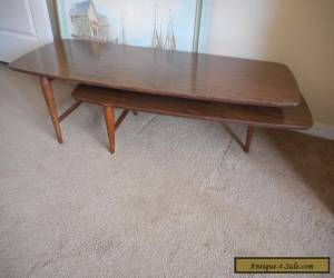 Vintage 1965 Authentic Lane Mid Century Modern Swivel Coffee Table EUC for Sale
