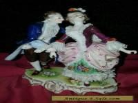 old volstedt porcelain lace group
