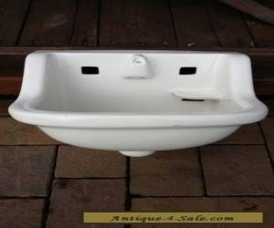 Vintage White Old County Jail House Prison Porcelain American Standard Sink for Sale