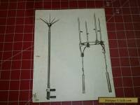 Antique Lightning Rod Original Salesman Sample Pic (B)