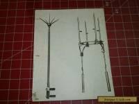 Antique Lightning Rod Original Salesman Sample Pic (B)