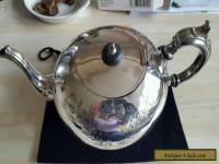 Vintage Antique EPBM Silver Teapot  Made In England Victorian.