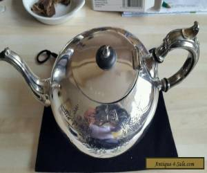 Vintage Antique EPBM Silver Teapot  Made In England Victorian.  for Sale
