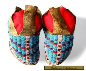 PLAINS MOCCASINS, CA. 1880-1900 for Sale